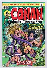 Conan The Barbarian #32 VF OWP complete 1973 1st Print Marvel Comics PWC