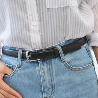 Women Hot Sale Fashion Belts Leather Metal Pin Buckle Waist Belt Waistband 110cm