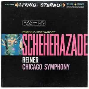 RCA | Fritz Reiner - Rimsky-Korsakov: Scheherazade 200g LP