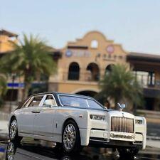 White -  Rolls Royce Phantom 1:24 Scale - Diecast Model Toy Car