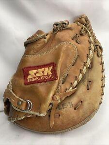 Vintage Pre-Owned CATCHER MITT Catcher Glove SASAKI SPORTS DIMPLE II DPM 9200