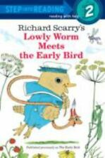 Richard Scarry's Lowly Worm Meets the Early Bird (Paperback or Softback)