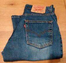 Women's Levi's Levis 525 89 Bootcut Blue Denim Stretch Jeans W28 L32 Size 10