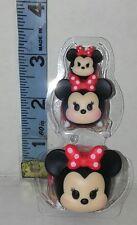 Minnie Mouse Set of 3 Sml Disney Tsum Tsum Series 1 New Loose 2016 104 105 106