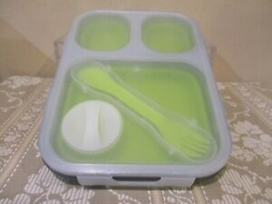 Silicone Lunch Box Leak Proof Collapsible Food Storage Container