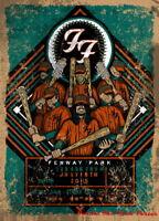 "009 Foo Fighters - Art Print Punk Rock Band Music Art 14""x19"" Poster"