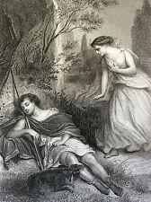 Eudore et Cymodocée les Martyrs impr Gilquin et Dupain  circa 1859