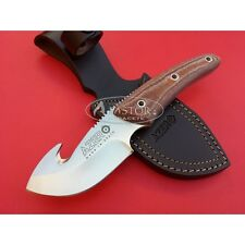 Cuchillo Desollador Azero micarta marrón - Azero skinner knife 231101