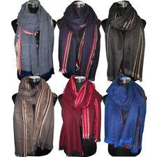 Gestreifte Damen-Schals & -Tücher aus 100% Wolle