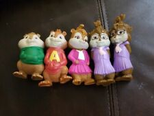 Alvin and The Chipmunks Chipettes Talking 2009 McDonalds Figures Toys LOT of 5