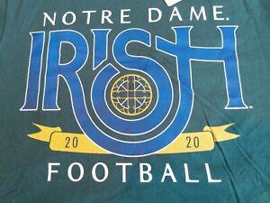 Notre Dame Fighting Irish Football 2020 The T Shirt 3XL Unshakable Spirit NEW