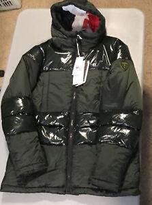 Rossignol ski jacket. 63010 RLIMJ62. Surfussion SH Parka. Forest Green.