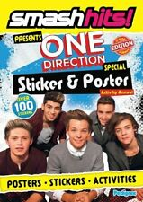 Smash Hits One Direction Sticker & Poster Activity Annual 2013 By Pedigree Book