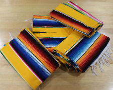 Mexican Sarape Gold, Blanket, Rug, Picnic, Throw, Mat, Tablecloth, Hot Rod, Yoga