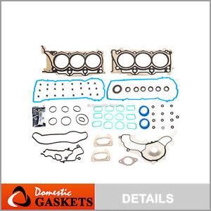 Head Gasket Set Fits 11-16 Ram Chrysler Dodge Avenger Jeep 3.6L DOHC VIN G