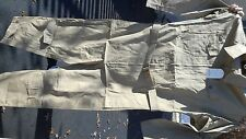 ANS-31 Desert Tan Summer Flying Suits Reproduction MFG WPG Size 46 NWT