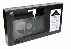 VHS-C Kassetten Adapter für Videorekorder - VHS Video Kassette Adapter , NEU