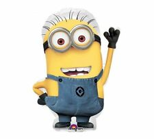 """Despicable Me 2 Minions Dave Birthday Party Jumbo 31"""" inch Foil Mylar Balloon"""