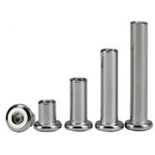 M6 M8 Stainless steel Allen flat head nuts inverted furniture hex socket nut