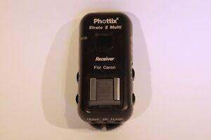 Phottix Strato II Multi 5-in-1 Receiver for Canon EXCELLENT CONDITION