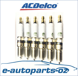 6 x AC Delco Spark Plugs Holden Commodore 6CYL 3.8L VN VP VR VS VT VU VX VY