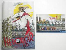 HEROBEAR & THE KID #1 ANIMATION CELL SDCC EXCLUSIVE ART BY MIKE KUNKEL ONLY 500