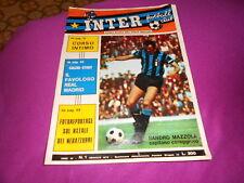CALCIO   RIVISTA    INTER    FOOTBALL  CLUB  NR  1  GENNAIO  1973
