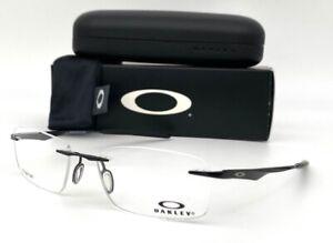 Oakley Wingfold OX5118-0253 Polished Black / Demo Lens 53mm Eyeglasses