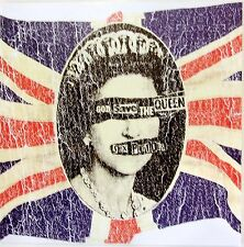 SEX PISTOLS CARTE DE VOEUX - GREETING CARD - GOD SAVE THE QUEEN
