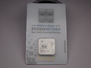 PAMP .999 RUTHENIUM 1/2 RARE IN ASSY CARD BRAND NEW READY TO SHIP
