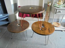 Less than 60cm Height Round Wooden Kitchen & Dining Tables