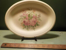 Semi Vitreous Edwin M. Knowles China Co. 47 5 Platter Made in U.S.A. antique