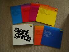AVANTGARDE AVANT GARDE Lp BOX washed/lavé (M -) 6 LPS