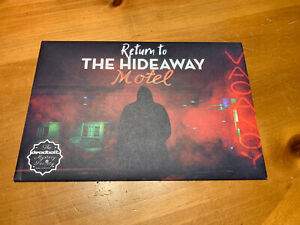 Deadbolt Mystery Society: Return To The Hideaway Hotel, Excellent Condition!