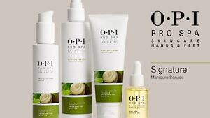 OPI Pro Spa Skincare Treatments & Creams For Hands Feet & Nails