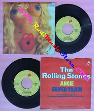 LP 45 7'' THE ROLLING STONES Angie Silver train 1973 italy RS 19105 no cd mc dvd