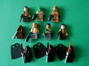 LEGO STAR WARS - LOT DE 10 FIGURINES PERSONNAGES STAR WARS - NEUF
