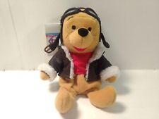"Winnie The Pooh As A Pilot Mini Bean Bag 8"" Stuffed Animal     t1923"