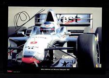 Mika Häkkinen Foto Original Signiert Formel 1 Weltmeister +G 18479