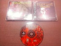 Sony PlayStation 1 PS1 PSOne CIB Complete Tested Deathtrap Dungeon Ships Fast
