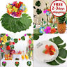 60 Table Decorations Supplies Moana Themed Party Tropical Luau Hawaiian Leaves