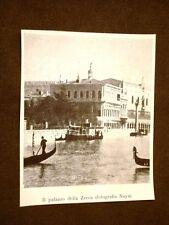 Venezia nel 1899 Palazzo della Zecca Veneto
