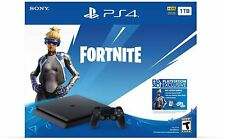 New Sony PlayStation 4 PS4 Slim 1TB Fortnite Neo Versa Gaming Console Bundle
