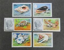 nystamps British Aitutaki Stamp # 90-95 Mint Og Nh $42 U4y1416