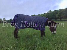 Donkey Mule Longear Winter Blanket Turnout Rug 48 Mini