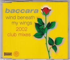BACCARA - WIND BENEATH MY WINGS-  2002 CLUB MIXES 7 TRACK MAXI CD RAR!