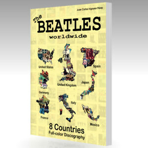 The Beatles Worldwide 8 Countries. 300 Pgs. UK US Germany Spain Italy France...