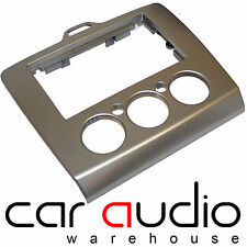 FORD Focus 2006 On SILVER Double Din Car Stereo Facia Fascia Panel DFP-07-17