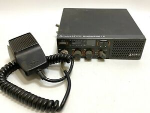 Cobra 18 Ultra 40 Channel CB Radio W/ Weatherband cb radio And Microphone Tested