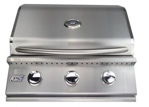 """RCS PREMIER SERIES 26"""" STAINLESS STEEL GRILL DROP IN / BUILT RJC26a LP"""